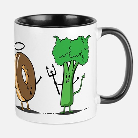 Donuts And Beoccoli Mug